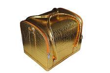 Beauty case Kosmetikkoffer Multikoffer Schminkkoffer Nagelstudio Gold
