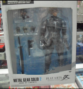 PLAY ARTS RAIDEN SONS OF LIBERTY SQUARE ENIX A-18667 0662248813295 FREE SHIPPING
