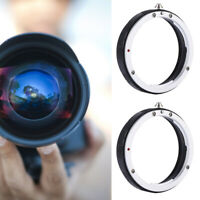 UV Rear Lens Protect Filter Ring Adapter for Canon for Nikon  F AI AF-S