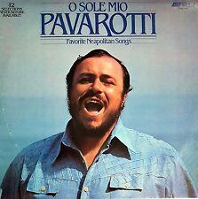 O SOLE MIO Pavarotti LP Record 33 RPM Stereo DECCA OS 26560 Vinyl RARE