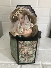1987 Enesco Cinderella Musical Jack-In-The-Box  -  Some Enchanted Evening