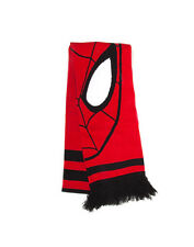 OFFICIAL MARVEL COMICS THE AMAZING SPIDERMAN MASK/ FACE RED & BLACK SCARF (NEW)