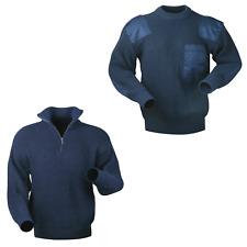 Arbeits Pullover Strickpullover Bundeswehr Navy Troyer Pullover Arbeitspullover
