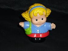 Fisher Price Little People Blonde Neighborhood Mom Girl Purse