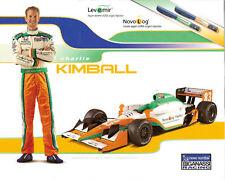 2011 CHARLIE KIMBALL INDY car 500 PHOTO CARD POSTCARD