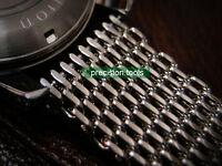 20mm Shark Mesh Polished Stainless Steel Replacement Bracelet For Scuba SBDC001