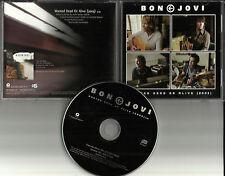 BON JOVI Wanted Dead or Alive 2003 VERSION 1TRK USA PROMO DJ CD single ISLR15957