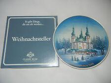 Rosenthal Piatto Natale 1988 Waldsassen Chiesa Di Pilgrimage + (int. Nr. 8-7)