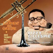Dizzy Gillespie: HAVE TRUMPET, WILL EXCITE + THE EBULLIENT MR. GILLESPIE