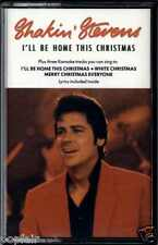 SHAKIN' STEVENS - I'LL BE HOME THIS CHRISTMAS 1991 UK CASSETTE SINGLE 657650 4