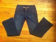 women's size 26 waist Seven 7 flare stretch denim jeans 26/29 Fashion Ladies