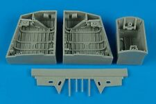 AIRES 1/48 EE Canberra Wheel Bays for Airfix Kit # 4453