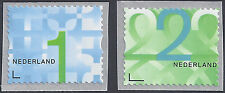NVPH 3138 + 3139 ZAKENPOSTZEGELS 1 +  2  2014 geknipt postfris