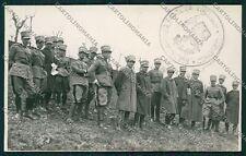 Reggio Emilia Sedrio ? Militari Foto cartolina QK0312
