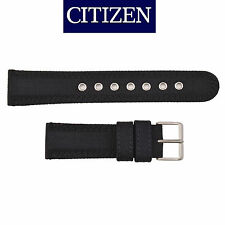 Citizen Original Eco-Drive Men's  BM8475-00F Black Canvas 22mm Watch Band Strap