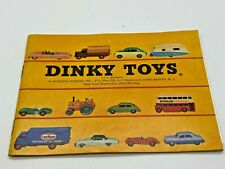 Very Nice Dinky Toys Die-Cast Catalog 1957 Clean Example W. Rare Inserts Look!