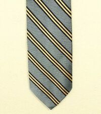 """BROOKS BROTHERS MAKERS striped silk tie made in the USA 3.5"""""""