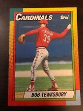 1990 Topps Traded Bob Tewksbury St Louis Cardinals 122T