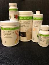Herbalife SET of 5 Product (Formula1, Protein, Aloe, Tea, Multivitamin)FREE SHIP