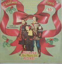 VINTAGE 1950-60 Christmas Carols Xmas 45 RPM Peter Pan Record Caroleers july