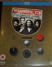 Warehouse 13, Komplette Serie, Staffeln 1 2 3 4 5 1-5, 15 Blu Ray Box, NEU & OVP