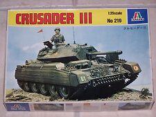 Maquette ITALERI 1/35ème CRUSADER III n°219