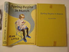 Spring Begins in March, Jean Little, DJ, Ex-Lib, 1966, 1st Edition