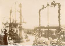 Fonderie vers 1890 Vintage albumen Print. Tirage albuminé  10x14  Circa 18