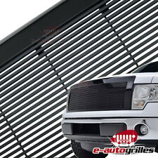 09-14 Ford F150 Replacement Black Aluminum Billet Grille Grill W/ Shell