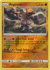 Regirock - 53/111 Reverse Holo Foil Pokemon Rare CRIMSON INVASION