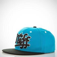 Neff Brooks Custom Goods Snapback Aqua Blue Black Adjustable Ball Hat Cap NWT