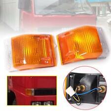 For 1985-93 Isuzu Elf Npr Nkr Nhr Truck Corner Lamp Fernder Lamp Light Pair Side