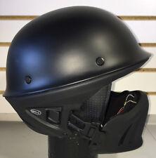 Open Box Bell Rogue 3/4 Motorcycle Helmet Matte Black Size Large