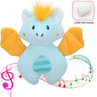 Cute Animal Handbell Baby Rattle Soft Stuffed Appease Sleeping Infant Plush Toy