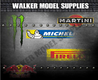 1:18 - 1:24 scale (3xA4) Garage wall - Peel and Apply sticker//model car 57