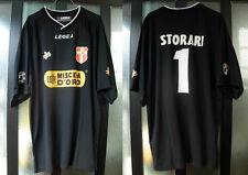 maglia shirt calcio messina legea nr 1 storari taglia L lega lextra nera confc.