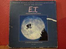 """E.T. - """"'Movie Soundtrack"""" - MCA70000 - LP - Booklet NO POSTER - Michael Jackson"""