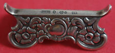 "Swedish Sterling By Various Makers Sterling Silver Knife Rest 1 7/8"" x 3/4"""
