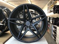 """22"""" INCH STAGGERD BD8 RIMS & TIRES FIT CHRYSLER 300 DODGE CHARGER CHALLANGER"""
