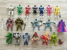 Vintage 1994 Mighty Morphin Power Rangers Flip Heads Auto Morph and Bad Guys Act
