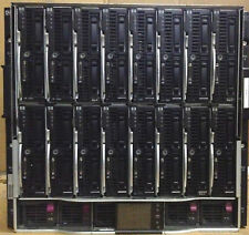 16 x HP ProLiant BL460c G6 2x Quad-Core Xeon X5550 2.66GHz BL c7000 Blade Server