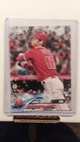2018 Topps Holiday Shohei Ohtani HMW17 Rookie Card Los Angeles Angels