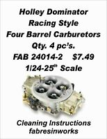FABResinworks #24821 Holley Dominator Carbs  for Pro-Mod & Pro Stock1/24-25th