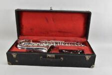 g28w12- Saxophon A. Douchet & Co. Paris mit Koffer