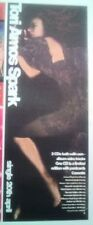 TORI AMOS Spark 1998 UK Poster size Press ADVERT 14x6 inches