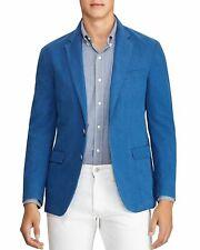 Polo Ralph Lauren Mens Sportscoat Blue Size 38 Regular Seersuck Morgan