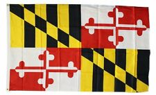 Maryland State Flag 3 x 5 Foot Flag - New 3x5 Indoor Or Outdoor