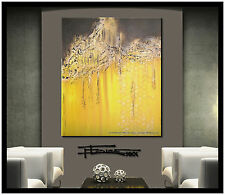 ABSTRACT PAINTING Modern CANVAS WALL ART Large, Framed, Signed, US  ELOISE