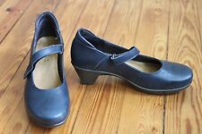 Naot Muse 37 US 6 Blue Heel Mary Jane Shoes