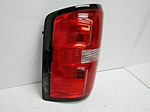 2014-2018 GMC SIERRA LH DRIVER'S SD HALOGEN TAIL LIGHT OEM# 84019504